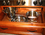 Deep Drawer Bases for Pots and Pans