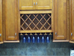 Wine Rack &Stemware Holder